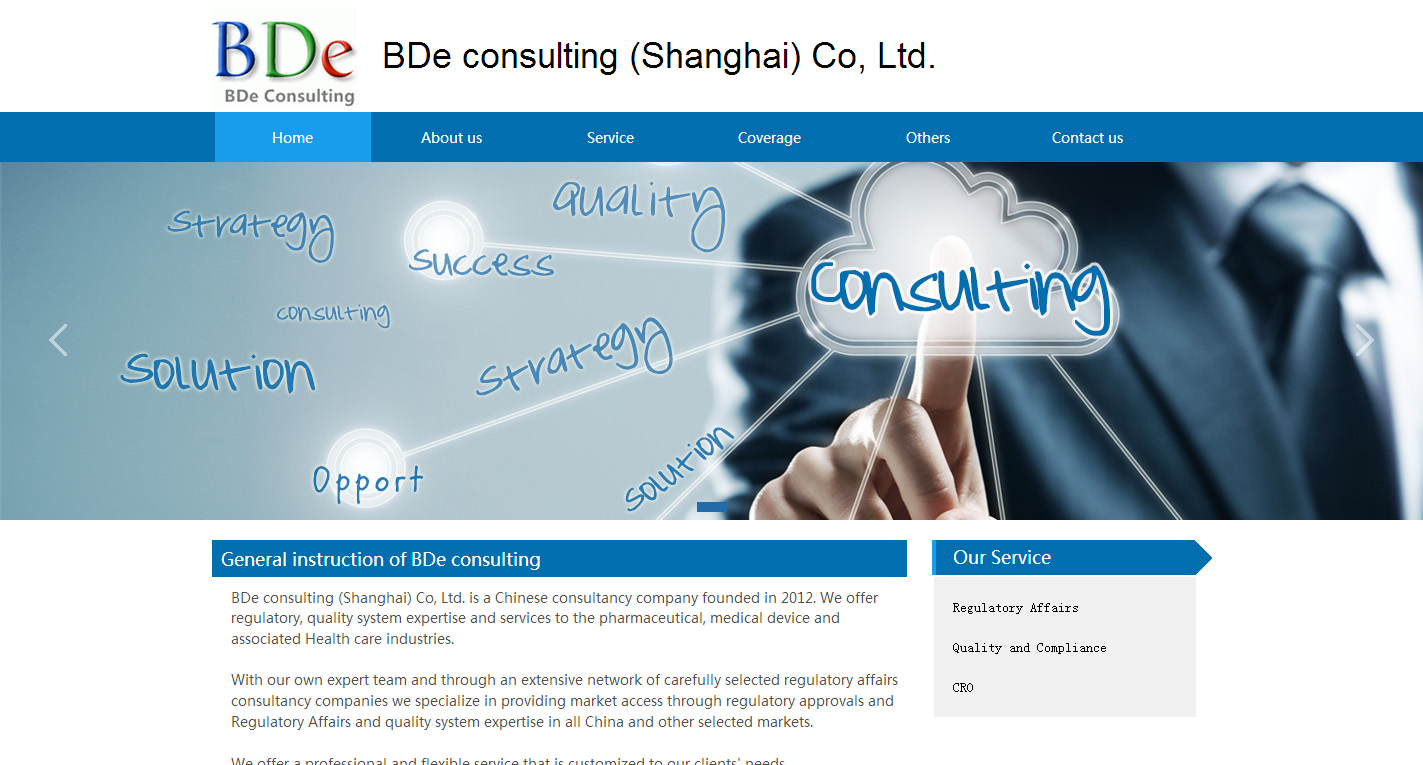 BDe consulting (Shanghai) Co, Ltd(标准版)