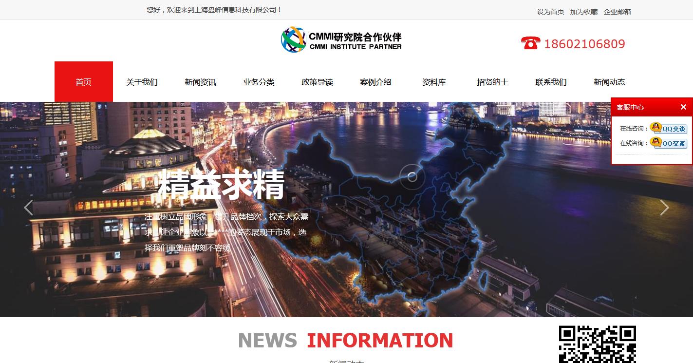 上海盘峰信息科技有限公司(标准版)